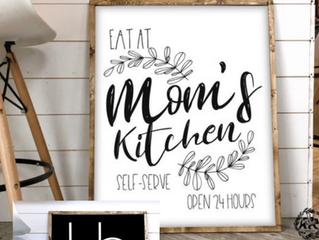 DIY Sign for MOM