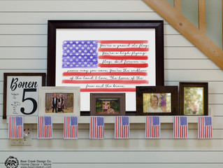 Decorating with the Grand Ole Flag