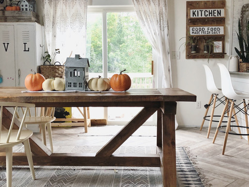From Logs to Farmhouse Table