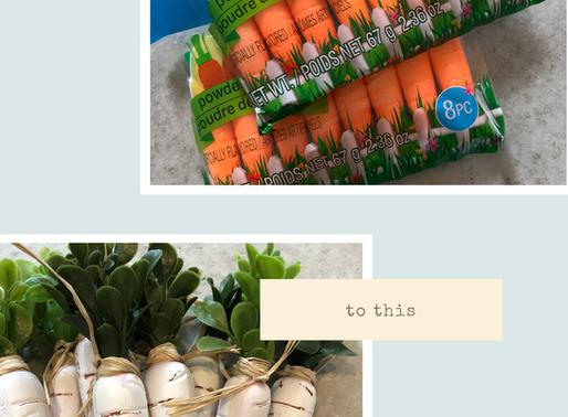 DIY Easter Carrot Garland