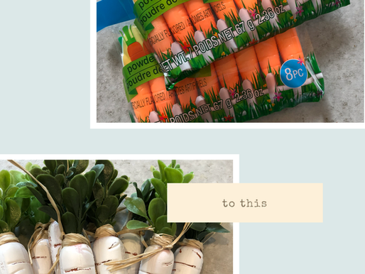 DIY Easter Carrot Garland