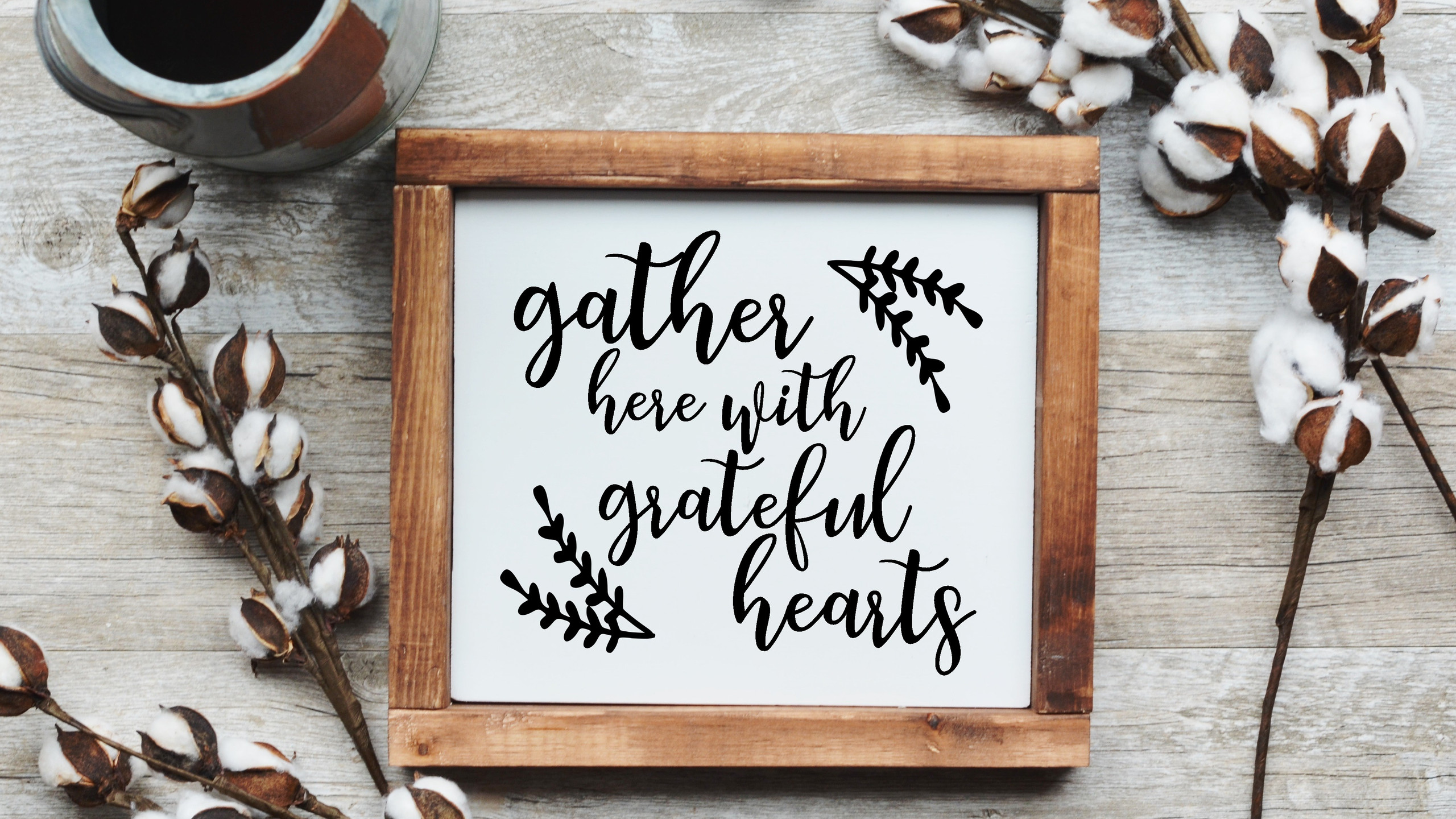 gather here sign 2