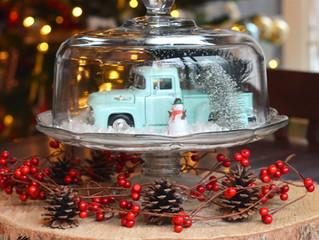 Snow Globe Cake Stand
