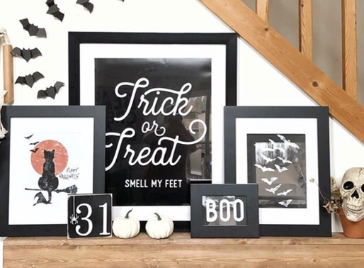Decorating with Printables