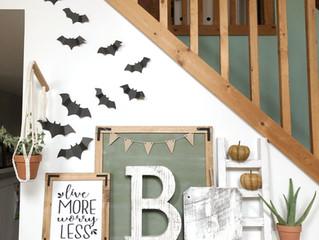 DIY Paper Bats