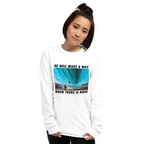 Make a way Unisex Long Sleeve Shirt