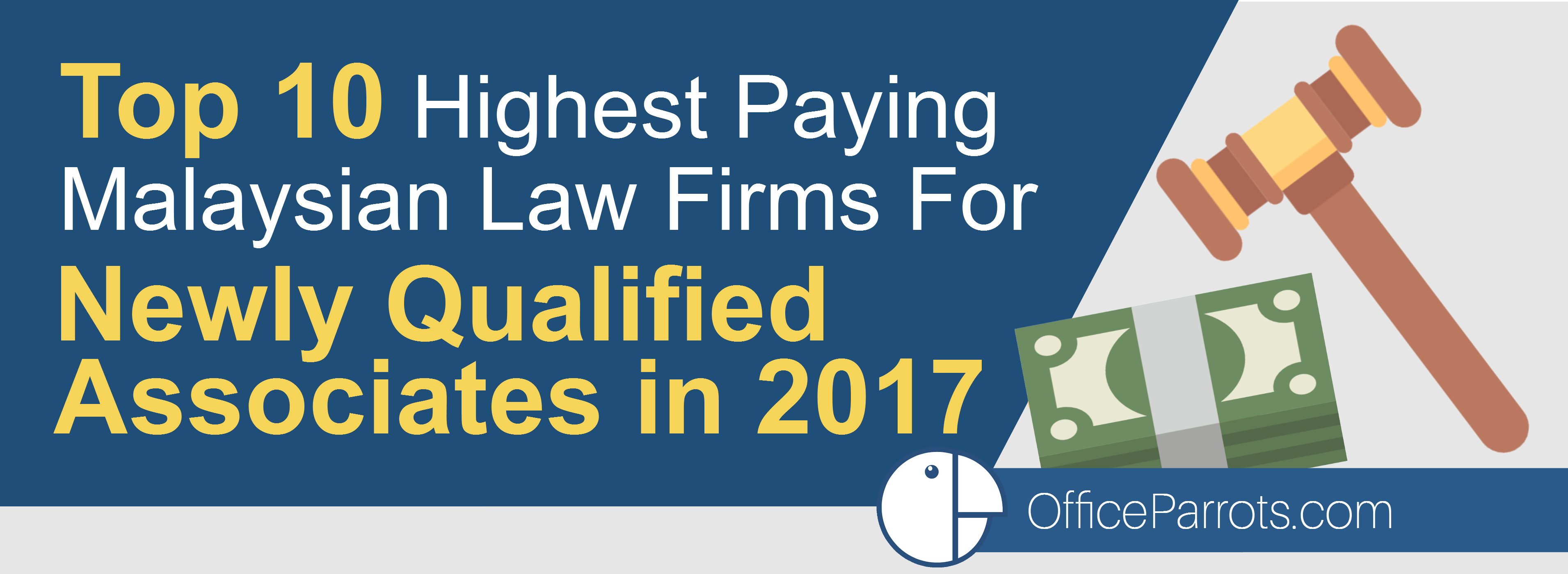 Top 10 Highest Paying Malaysian Law Firms For Newly