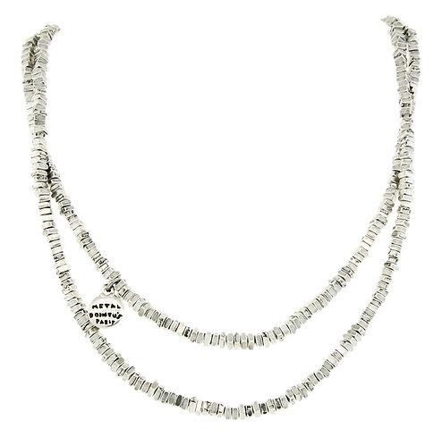 Carre Long Necklace