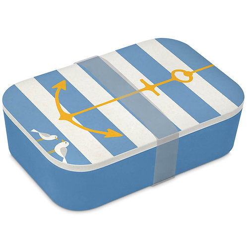 Beach anchor lunch box made of bamboo 900ml