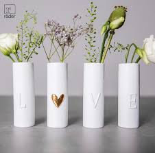 Love Mini Vases set of 4