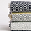 Thumbnail: Recycled Cross Hatch Throw Navy & White