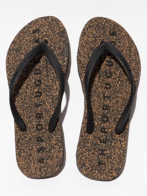 Asportuguesas Flip Flops Black-Black