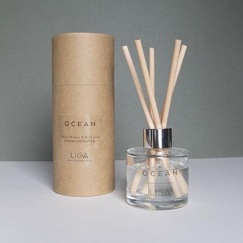 Ocean Reed Diffuser Citrus Breeze & Driftwood