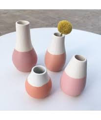 Shades of PinkMini Vases set of 4