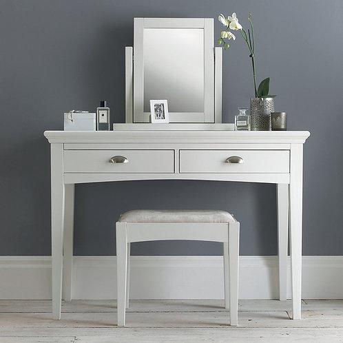 Hampstead White Vanity Mirror