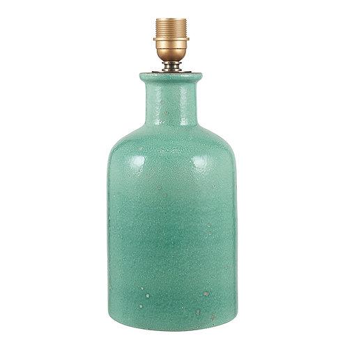 Tall Glazed Celadon Stoneware Table Lamp