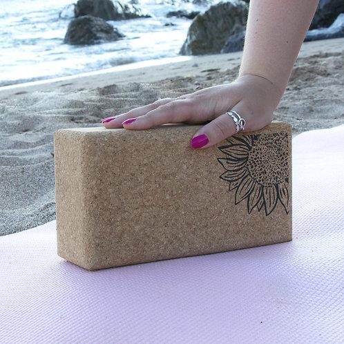 Yoga Block Sunflower