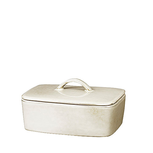Broste Nordic Sand Butter Dish