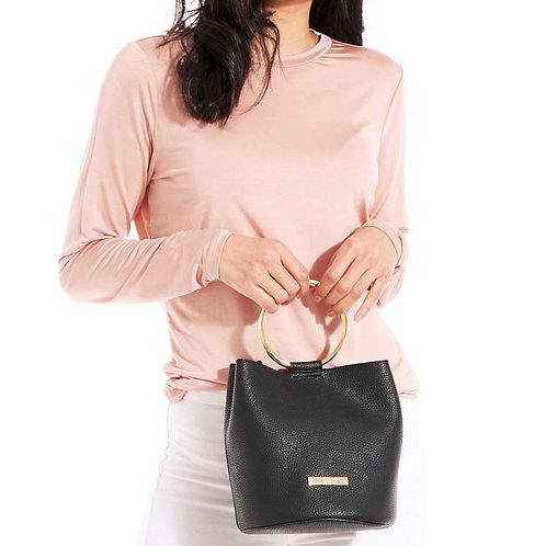 Katie Loxton Suki Mini Bucket Bag Black
