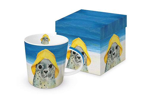 Hello mug in gift box 350ml New Bone China
