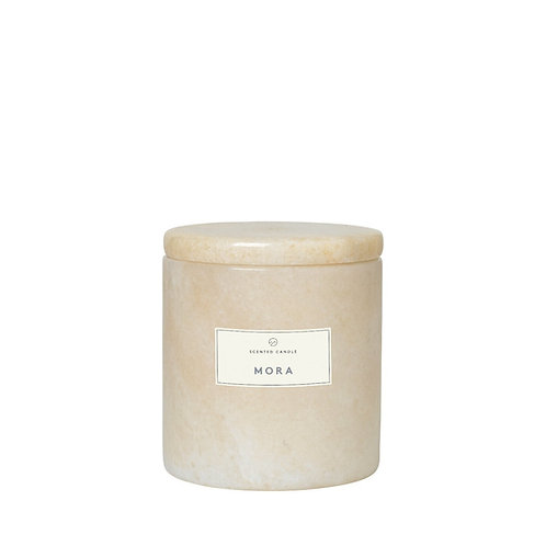 Scented Marble Candle Moonbeam