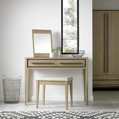 Rimini Aged and Weathered Oak Vanity Mirror