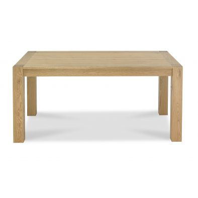 Turin Light Oak 6 seater Rectangular Dining Table165cm
