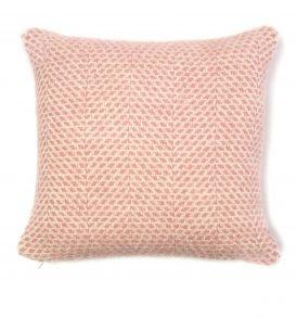 Dusky Pink Pure New Wool Cushion