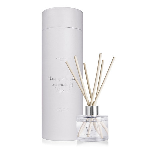 Katie Loxton 'Thank You For Being My Wonderful Mum X' Reed Diffuser