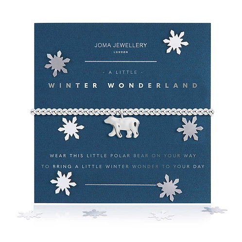 A LITTLE WINTER WONDERLAND BRACELET  SNOW GLOBE