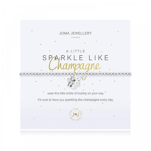 'A Little Sparkle Like Champagne' Bracelet