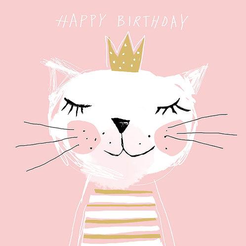 Happy Birthday Princess lunch napkins 33x33 cm