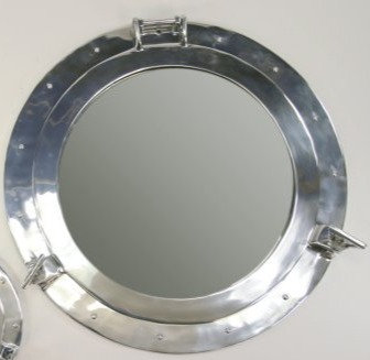 Aluminium Porthole Mirror
