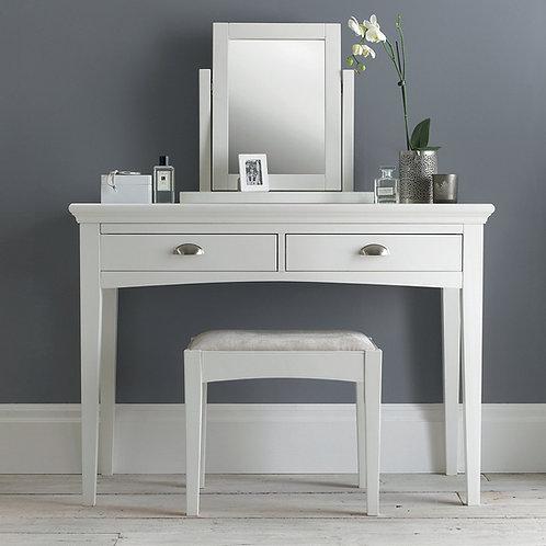 Hampstead White Dressing Table Set
