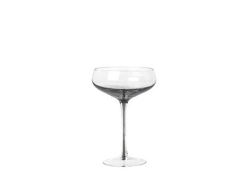 Broste Cocktail Glass 'Smoke' Glass set of 4
