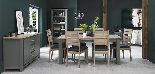Oakham  Scandi Oak Slatted Chairs