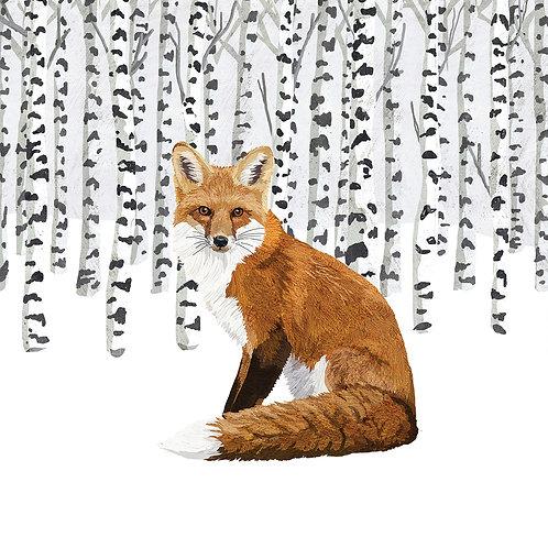 Wilderness Fox Lunch Napkins