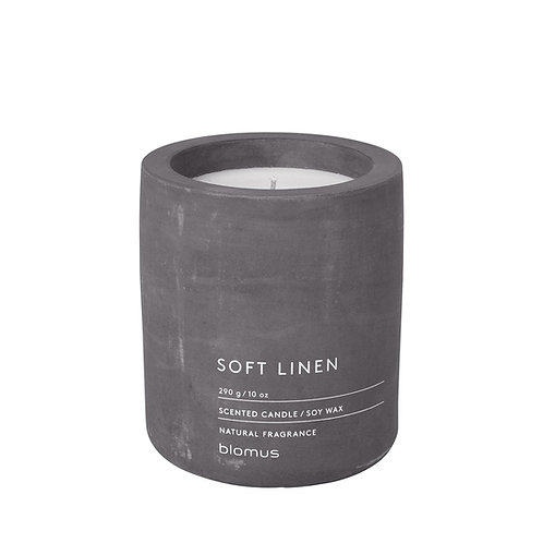 Blomus Scented Candle L Soft Linen FRAGA