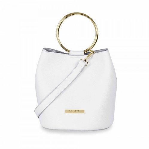 Katie Loxton Suki Mini Bucket Bag White
