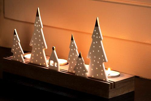 Porcelain Light Object Hills by Rader Designs