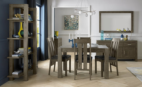 Turin Dark Oak Small End Extension Table