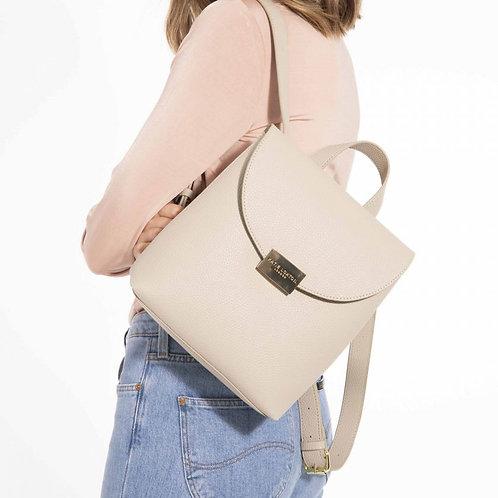 Katie Loxton Bailey Backpack Bag Warm Grey