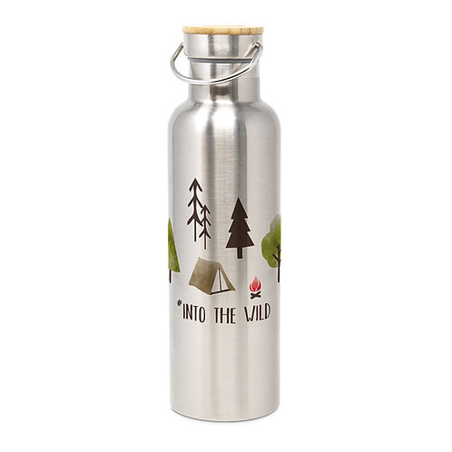 Stainless Steel Bottle Into the wild