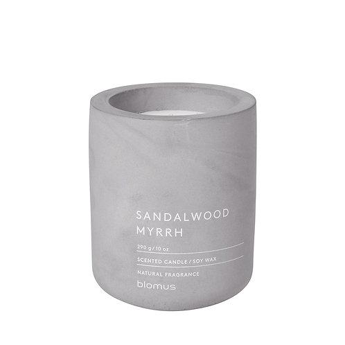 Blomus Scented Candle L Sandalwood Myrrh