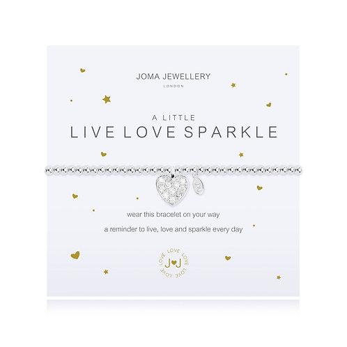 'A Little Live Love Sparkle' Bracelet