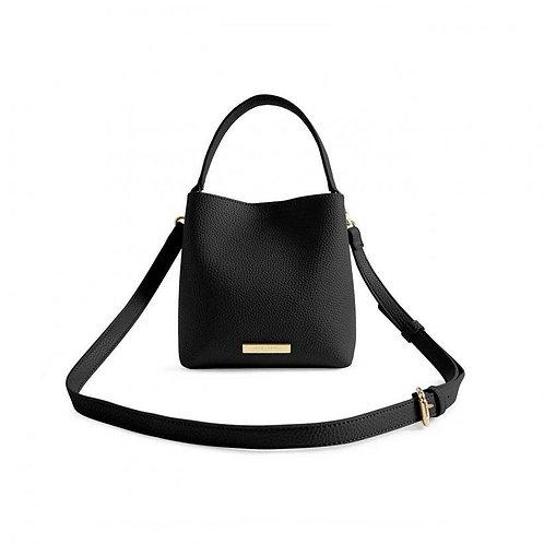 BLACK LUCIE CROSSBODY BAG