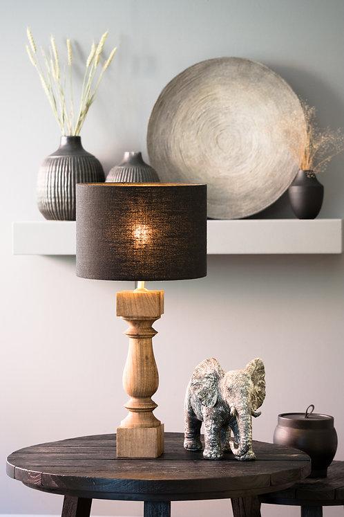 CUMANI Natural Wood Table Lamp