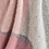 Thumbnail: Charcoal & Dusty Pink Block Check Pure New Wool Sand Blanket