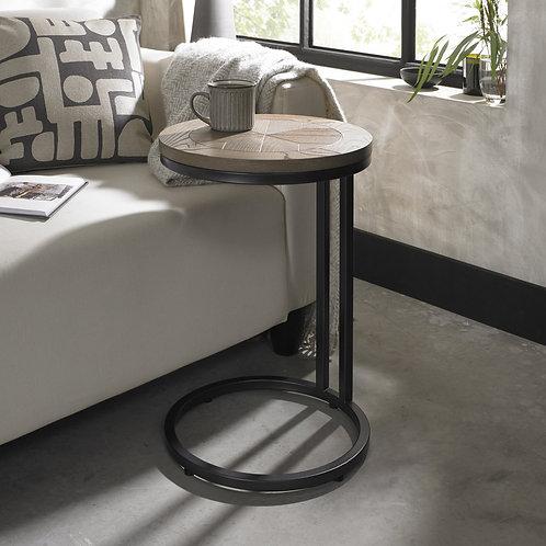 Chevron Weathered Ash Sofa Table