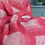 Geometric Pure New Wool tweedmill Blanket Watermelon sand cornwal
